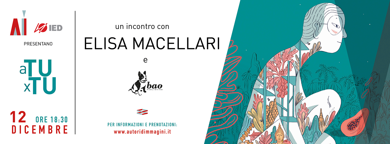 Incontro con Elisa Macellari