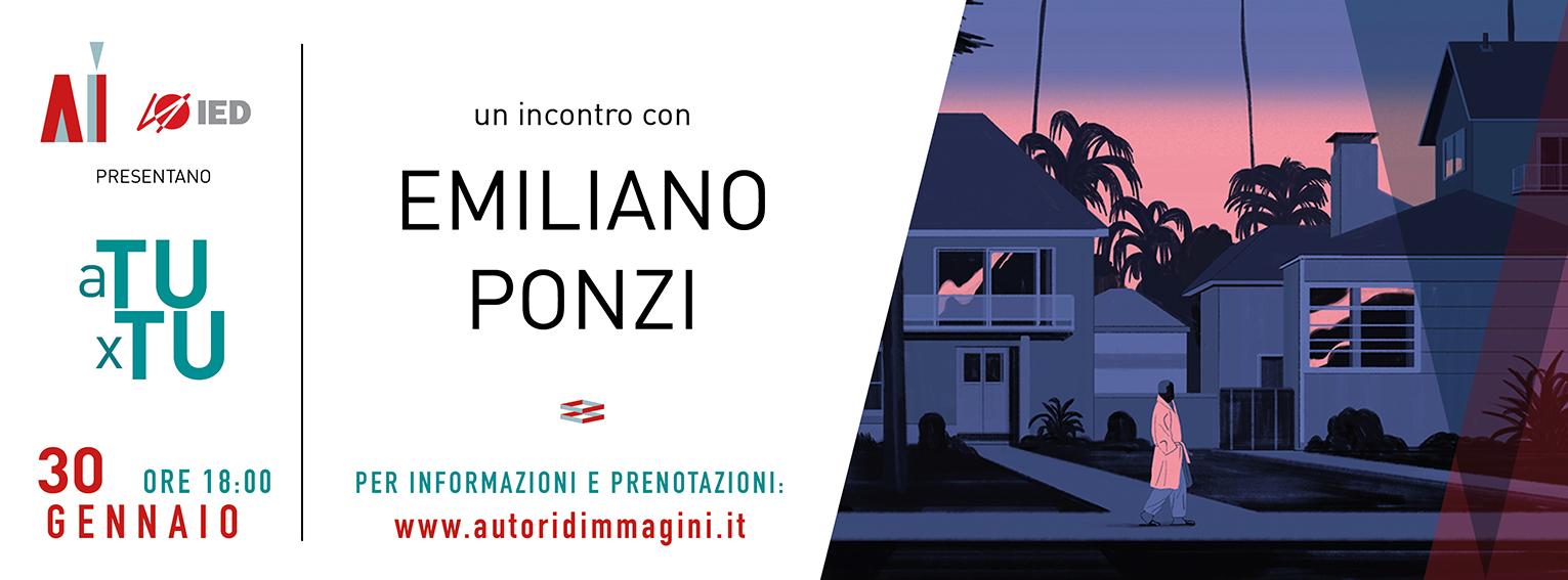 Incontro IED con Emiliano Ponzi